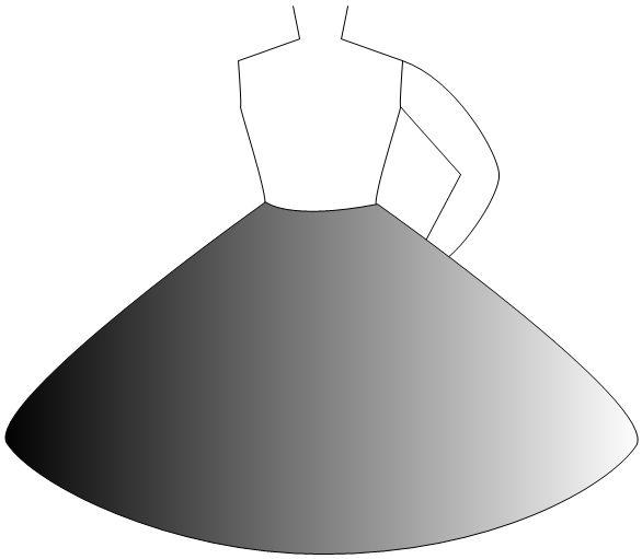 not kosher circle skirt