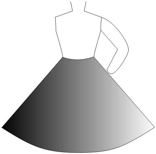 not kosher flair skirt