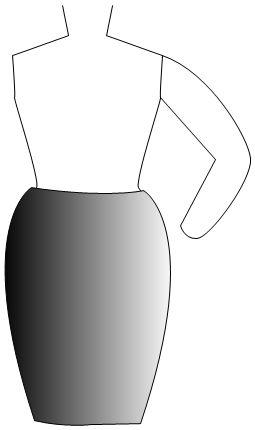 not kosher pencil skirt